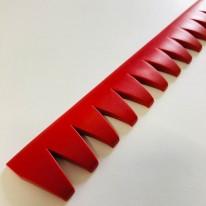 カット済スリ傷アンダープロテクター(レッド)の商品写真